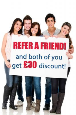 £30 Discount for english classes